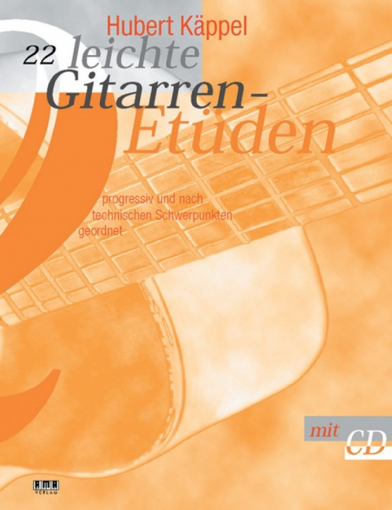 22 easy guitar études