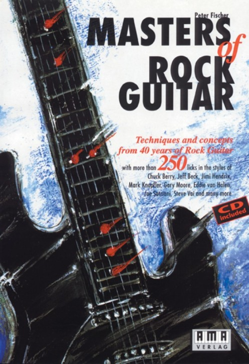 Masters of Rock Guitar (english)