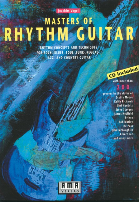 Masters of Rhythm Guitar (engl.)