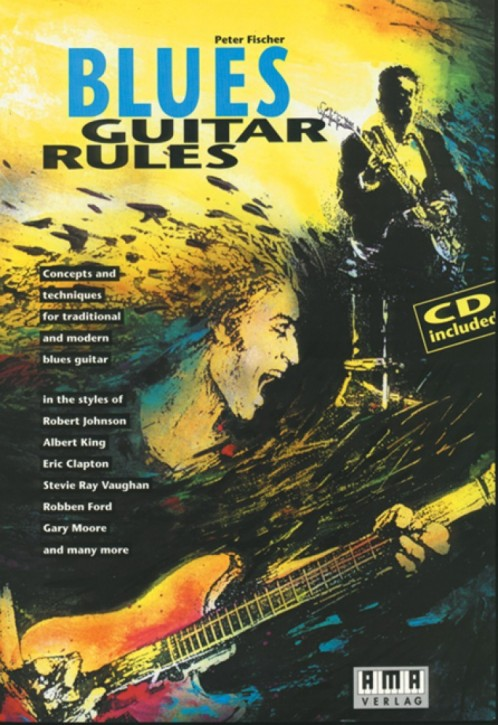 Blues Guitar Rules (englisch)