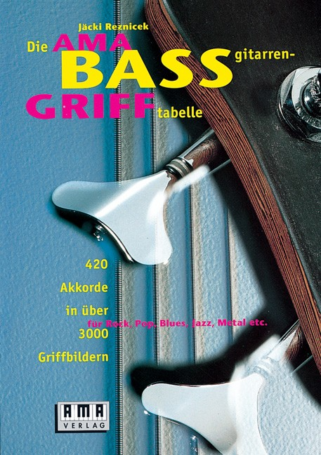 The AMA Bassguitar Chord Book