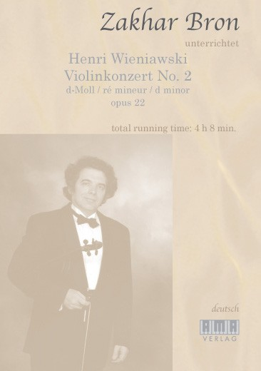 Wieniawski: Concerto for Violin and Orchestra D-Moll op. 22