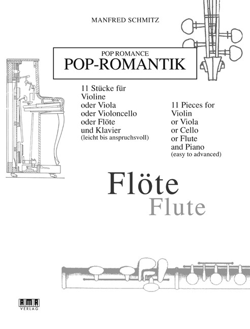 Pop Romance for Flute & Piano