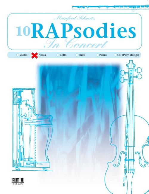 10 RAPsodies In Concert (Viola)