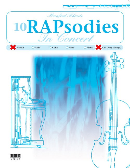 10 RAPsodies In Concert (Violine & CD)