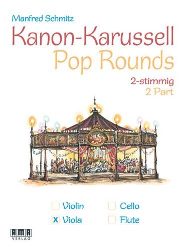 Kanon-Karussell – 2-stimmig (Viola)