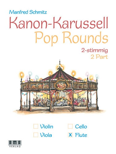 Pop Rounds - 2 Part (Flute)