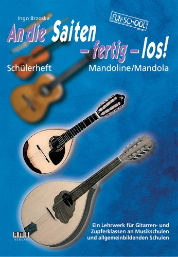 On the Strings, Ready, Go! – Student book Mandolin