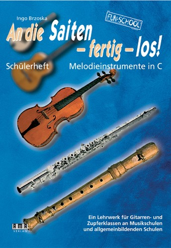 On the Strings, Ready, Go! – Student book Melodic Instrument in C