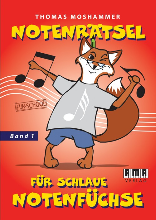 Music puzzles for clever musical foxes. Vol. 1