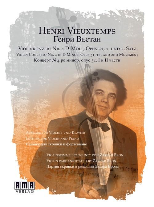 Vieuxtemps: Violinkonzert Nr. 4 D-Moll, Opus 31, 1. und 2. Satz