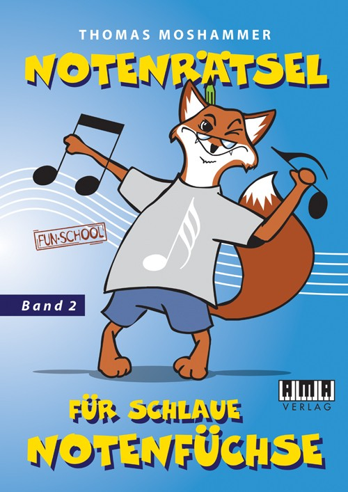 Music puzzles for clever musical foxes. Vol. 2
