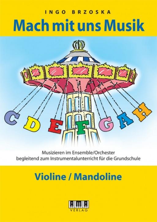 Mach mit uns Musik. 2: Violine/Mandoline
