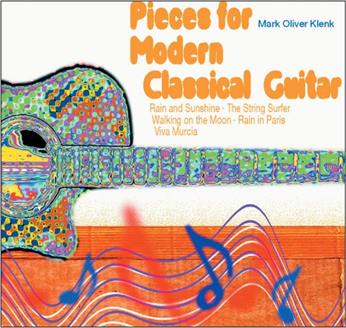 Pieces For Modern Classical Guitar (CD)