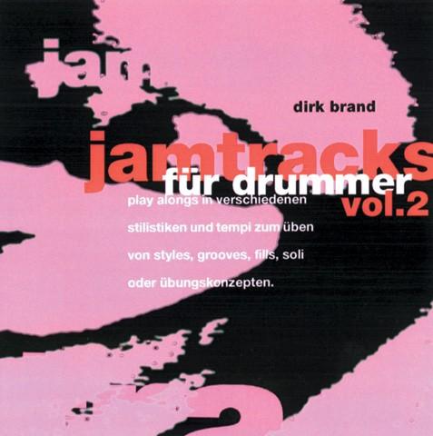Jamtracks für Drummer. Vol. 2