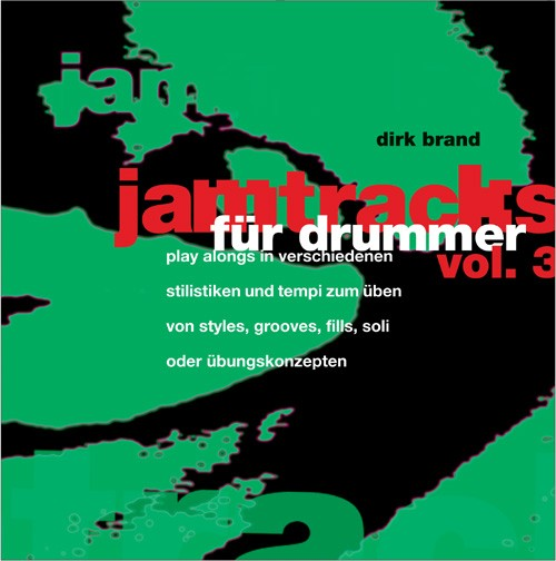 Jamtracks für Drummer. Vol. 3