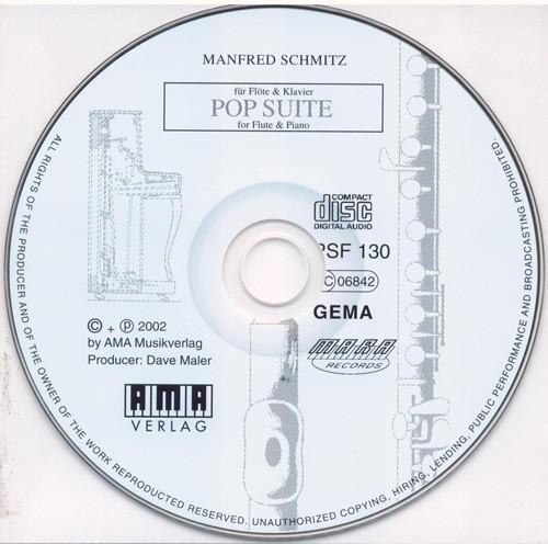 Mitspiel-CD POP SUITE FÜR FLÖTE