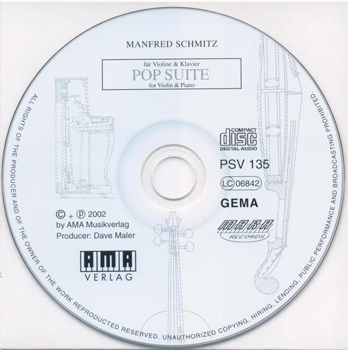 Mitspiel-CD POP SUITE FÜR VIOLINE